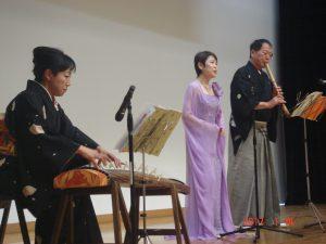 エストロ和楽美による邦楽演奏